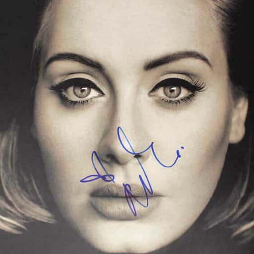 Adele-albim-25-Signed Autograph